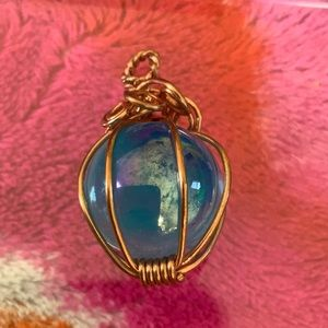 Jewelry - 3/$12 Copper Wrapped Pendant